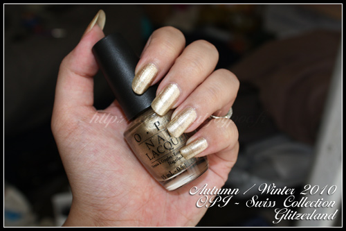 OPI Glitzerland - Swiss Collection - Autumn Winter 2010
