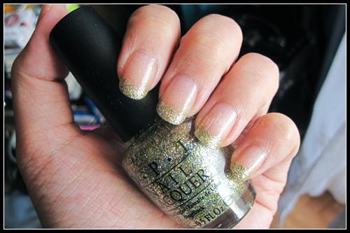 OPI Glow Up Already ! - China Glaze Fairy Dust