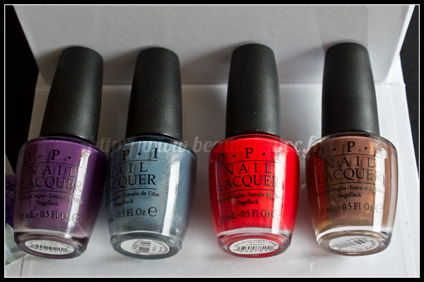 OPI Holland Collection Spring Summer 2012