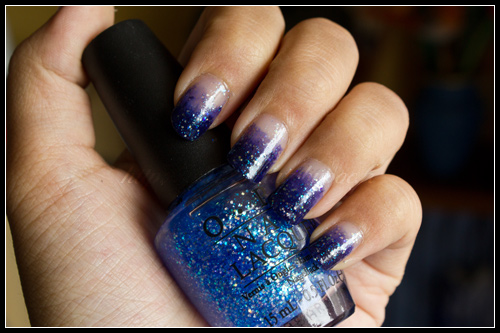 OPI + Illamasqua Gradient Nails