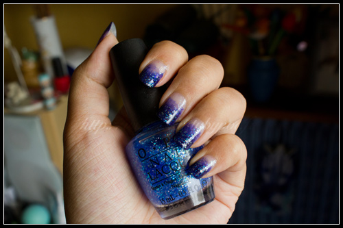 OPI + Illamasqua : Gradient Nails