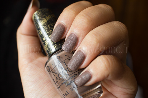 OPI : It's All San Andrea's Fault Liquid Sand - Collection San Francisco / Automne 2013