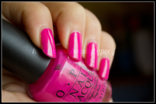 OPI : Kiss Me on My Tulips - Holland / Printemps 2012 - THE rose !