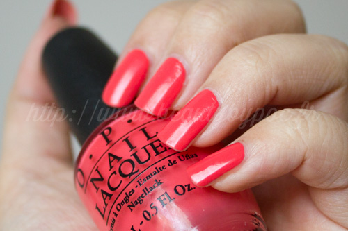 OPI : Live. Love. Carnaval - Brazil Collection / Eté 2014