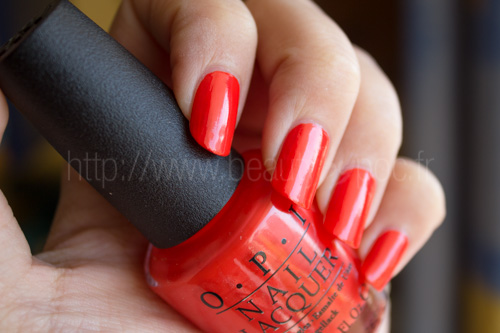 OPI : My Paprika is Hotter than Yours! - Euro Centrale / Printemps 2013