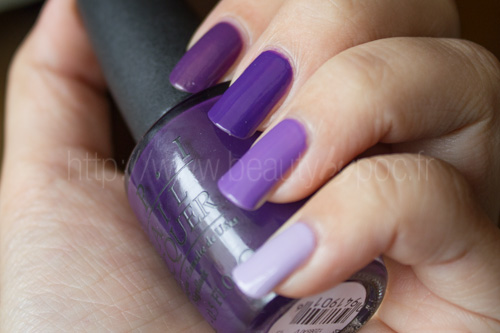OPI : Ombré Nails Violet