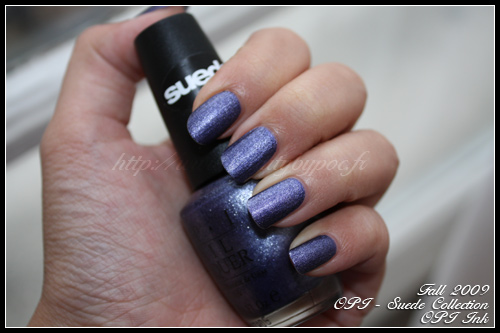 OPI Ink Suede Fall 2009