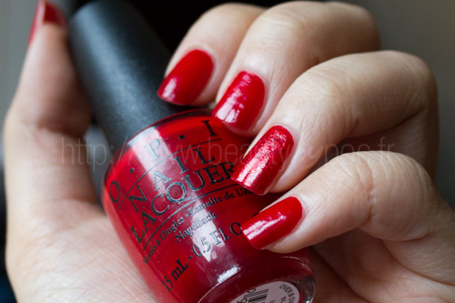 OPI : Over & Over A-Gwen - Collection Gwen Stefani