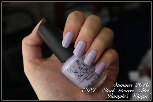 OPI Rumple's Wiggin' Shrek Forever After Summer 2010