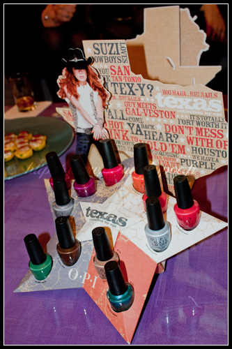 OPI collection Texas Printemps 2011