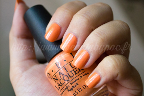 OPI : Where did Suzi's Man-go ? - Collection Brazil / Eté 2014