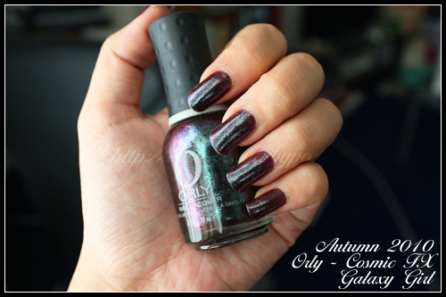 Orly Galaxy Girl Cosmic FX Automne 2010