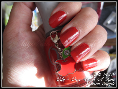 Orly Poison Apple Once Upon A Time Fall 2009