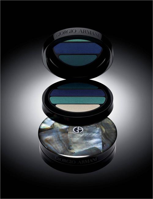 "Giorgio Armani : Palette Yeux ""Ecailles"" De Luxe / Collection Ecailles - Eté 2012"