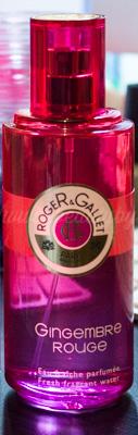 Roger & Gallet : Gingembre Rouge Eau Fraîche Parfumée