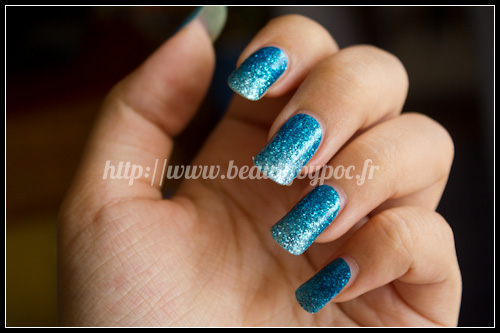 Sephora Nail Patch Art Un gradient Pailleté
