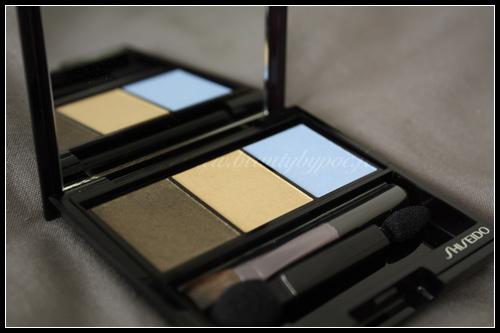 Shiseido Ombre Doux Eclat Trio GD804 Opéra