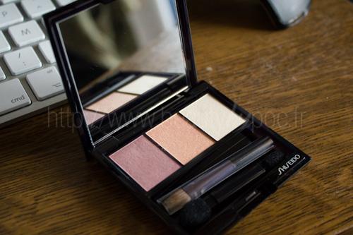 Shiseido : Ombre Doux Eclat Trio RD299 Beach Grass /