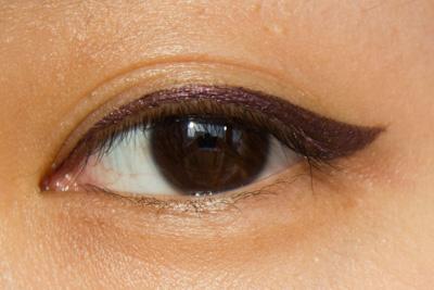 Shu Uemura x Karl Lagerfeld : Painting Liner Blackish Satin Purple