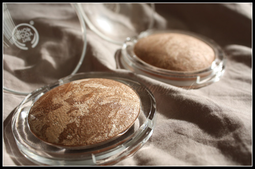 The Body Shop Poudres Bronzantes Baked-to-Last Colors Eté 2010