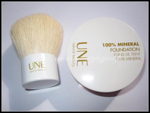 UNE Beauty Fond de Teint 100% Minéral