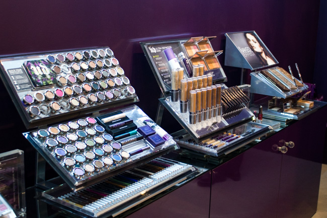 Urban Decay : Boutique éphémère et make-up class !