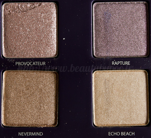 Urban Decay : Vice Palette - Provocateur / Rapture / Nevermind / Echo Beach