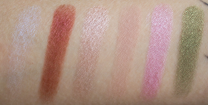 Urban Decay XX Vice Ltd Reloaded Roadstripe, Gash, Midnight Cowboy, Laced, Hot Pants, Mildew