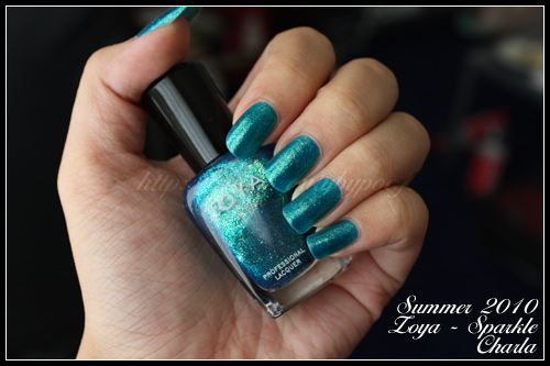 Zoya Charla Sparkle Collection Summer 2010