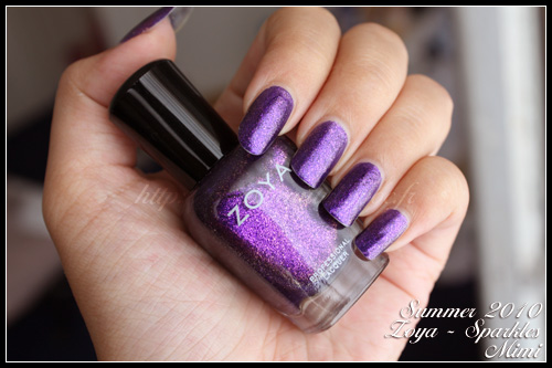 Zoya Mimi Sparkle Collection Summer 2010