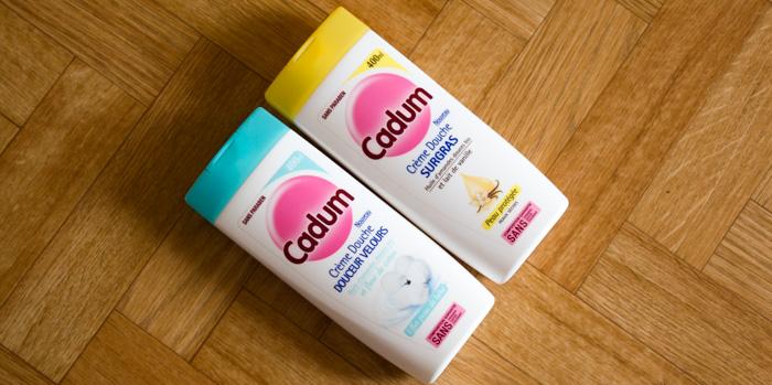 Cadum : Crème Douches Surgras & Douceur Velours