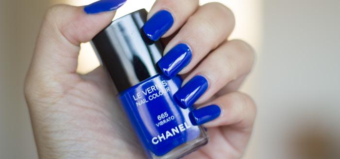 CHANEL : #665 Vibrato - Blue Rhythm