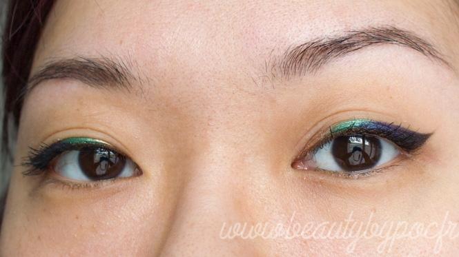 Make-up #109 : Liner multicolore avec Urban Decay !