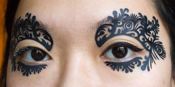 Make-up #97 : Make-up de fêtes avec les Face Lace by Phyllis Cohen