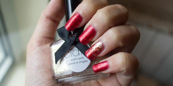 Noël 2014 : China Glaze Ring in the red & Ciaté Antique Brooch