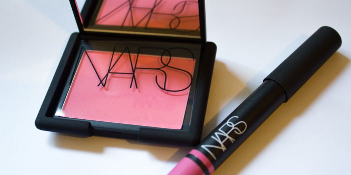 Nars Blush New Attitude & Satin Lip Pencil Villa Lante