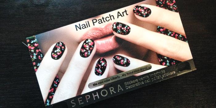 Sephora : Nail Patch Art Ma Mini Robe Liberty