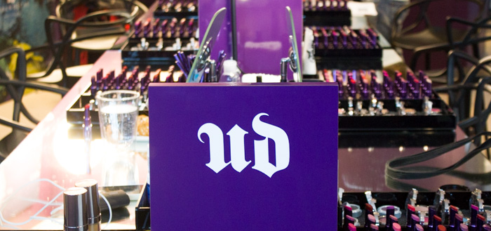 Urban Decay Pop up store